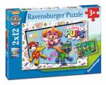 Puzzle 2x12 elementów - Psi Patrol