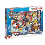 Puzzle 104 elementy Psi Patrol