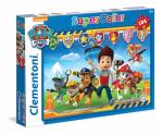 Puzzle 104 elementów Super Kolor Psi Patrol