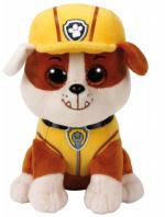 Maskotka TY Beanie Babies Psi Patrol Rubble, 15 cm
