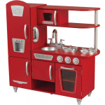 KIDKRAFT Kuchnia Vintage Czerwona