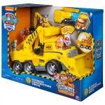 6046466 Psi Patrol Ultimate Rescue Ciężarówka Rubbla