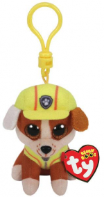 ND17_MA-9690 TY BEANIE BABIES Psi Patrol Rubble Clip 8,5cm TY 41278