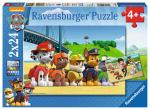ND17_PU-6242 Puzzle 2x24el Psi Patrol Bohaterskie szczeniaki 090648 RAVENSBURGER