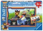 ND17_PU-6254 Puzzle 2x12el Psi Patrol W akcji 075911 RAVENSBURGER