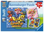 ND17_PU-7610 Puzzle 3x49el Psi Patrol 080366 RAVENSBURGER