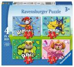 ND17_PU-7743 Puzzle 4w1 Psi Patrol 069231 RAVENSBURGER