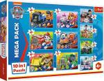 ND17_PU-7914 Puzzle 10w1 Ekipa Psiego Patrolu. Paw Patrol 90355 Trefl