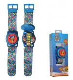 ND17_ZB-126736 Zegarek cyfrowy ze światełkami Psi Patrol PW16678 Kids Euroswan