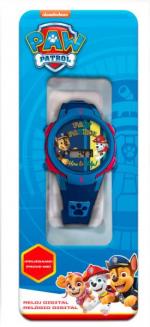 ND17_ZB-126737 Zegarek cyfrowy ze światełkami LED Psi Patrol PW16680 Kids Euroswan