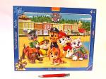 RAV puzzle ramkowe Psi Patrol 37 el 061556
