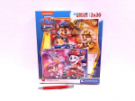 !!! CLE puzzle 2x20 SuperKolor Psi Patrol 24786