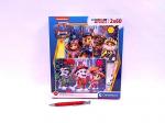 !!! CLE puzzle 2x60 SuperKolor Psi Patrol 24787