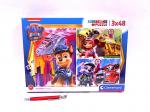 !!! CLE puzzle 3x48 SuperKolor PsiPatrol 25271