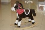 BETICCO BABY COFFE Konik Na Biegunach INTERAKTYWNY