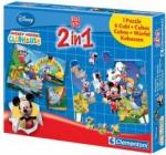 CLEMENTONI 12631 PUZZLE I KLOCKI MMCH 2W1