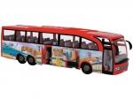 DICKIE 3745005 Autobus turystyczny Czerwony