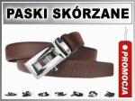 DK-1806 S Pasek MĘSKI SKÓRZANY AUTOMAT 3cm