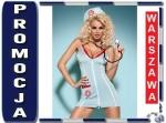OBSESSIVE Doctor sukienka kostium 3 cz.+stetoskop