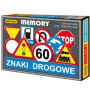 ADAMIGO 3297 ZNAKI DROGOWE - memory GRA
